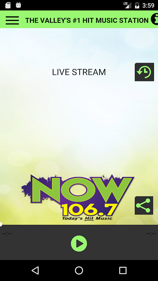 NOW 106.7- screenshot