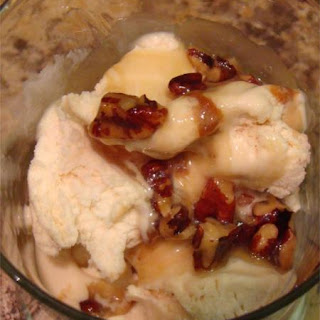 Grandma's Old Fashioned Butter Pecan Sundae