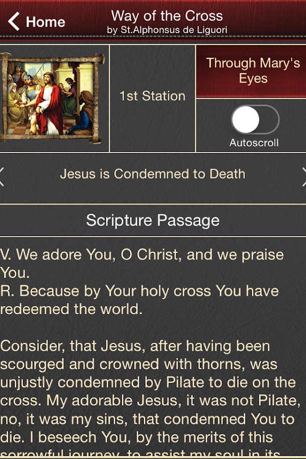 Passion of Jesus- screenshot