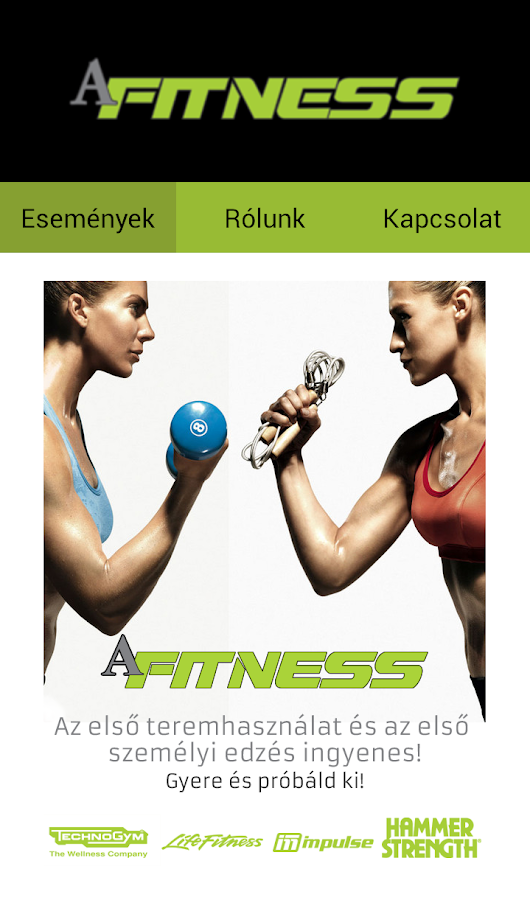 AFitness- screenshot