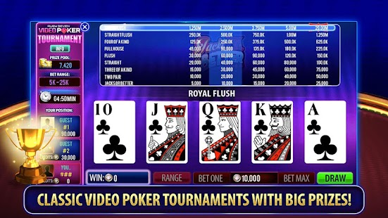 Ruby Seven Video Poker | Free - náhled