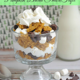 Mini Pumpkin Bread S'more Trifle