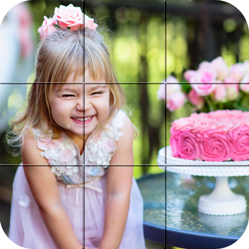 Puzzle - Happy kids