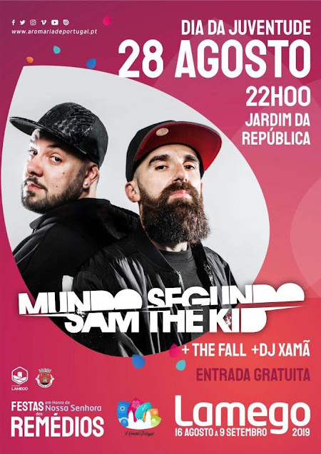 Mundo Segundo - Sam The Kid confirmados na