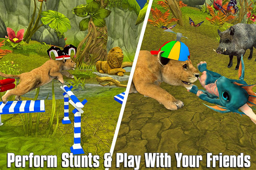 The Lion Simulator: Animal Family Game 1.0 screenshots 8