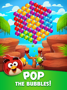 Angry Birds POP Bubble Shooter MOD (Unlimited Gold/Lives/Gems/Boosters) 10