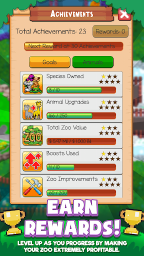 Idle Tap Zoo: Tap, Build & Upgrade a Custom Zoo 1.1.3 mod screenshots 5