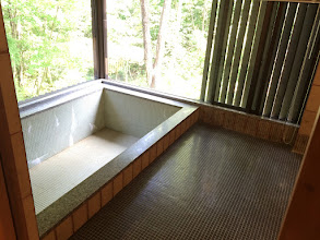Photo: 天然温泉100%のお風呂です