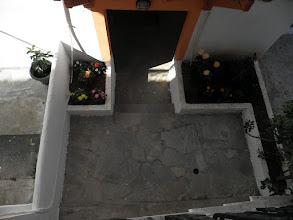 Photo: Κηπάρια μεταξύ των δύο οικοδομών-Small garden bettwen two bildings