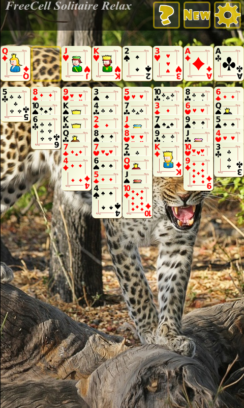 FreeCell Solitaire Relax- screenshot