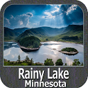 Rainy Lake GPS Map Navigator icon