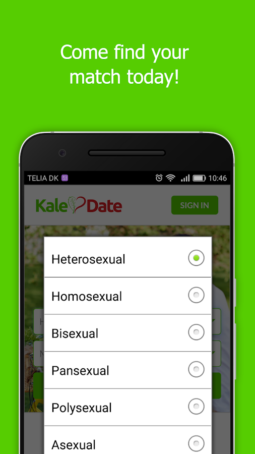 KaleDate Vegan Dating- screenshot