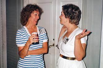 Photo: Carol (Craven) Barnes, Ann (Schaper) Walton