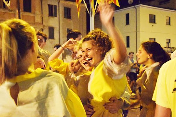 Festeggiamenti dopo la vittoria di paolo_battilani