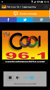 FM Cool 96.1 Calamuchita- screenshot thumbnail