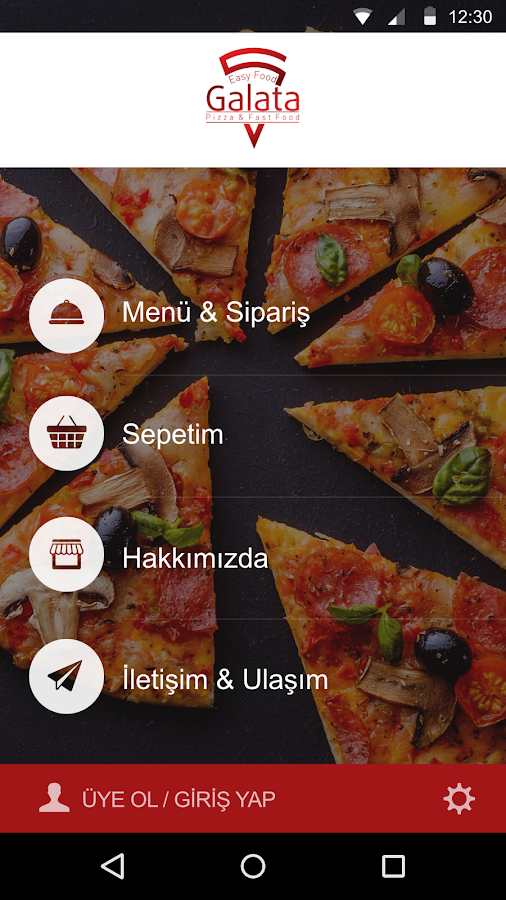 Galata Pizza & Fast Food- screenshot