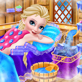 Icy Queen Spa Makeup Party