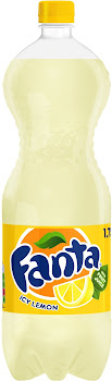 Fanta Carbonated Drinks - Icy Lemon, 1.75L