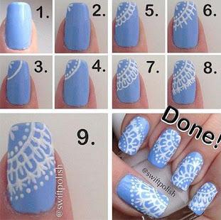 Nail Manicure Art Designs TUTO