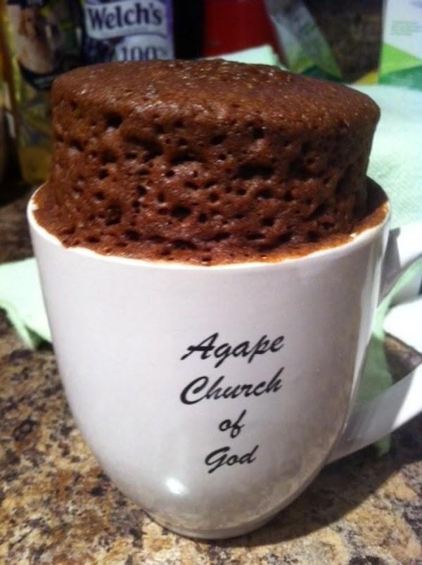 5 Minute Chocolate Mug Cake Recipe