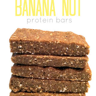 No-Bake Banana Nut Protein Bars.