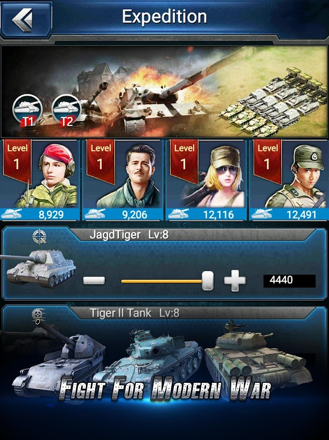 Panzer Strike- screenshot