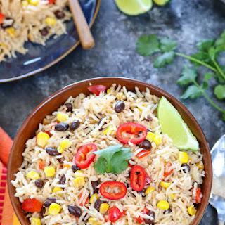Instant Pot Fiesta Rice.