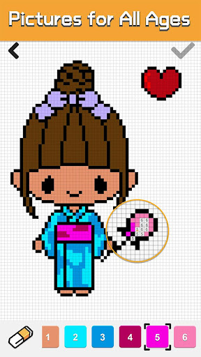 Pixel Coloring - Pixel Art Game 1.0.0 screenshots 4