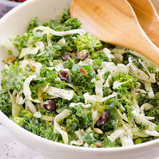 Sweet Kale Salad.