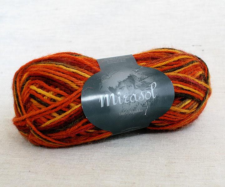 Du Store Alpakka - Mirasol Handmålat Färg 2072