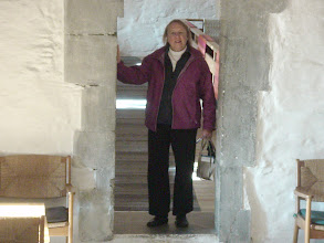Photo: Lorraine inside the fortress.