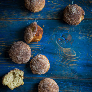Chai Spiced Doughnut Muffins