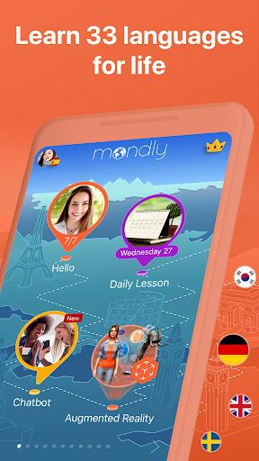Learn 33 Languages Free - Mondly screenshot 2