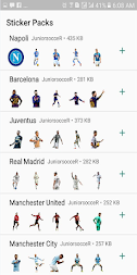 JuniorsocceR Sticker Whatsapp APK screenshot thumbnail 1
