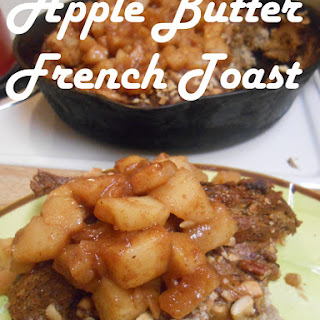 Apple Butter French Toast Bake + History of French Toast