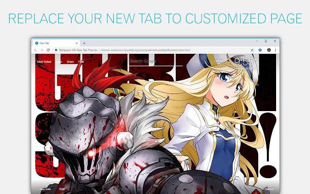 Goblin Slayer Wallpaper HD Custom New Tab