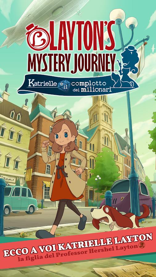 Layton's Mystery Journey:
