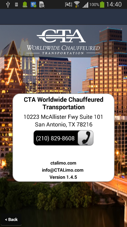 CTA Worldwide- screenshot