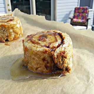 Coconut Flour Cinnamon Rolls.