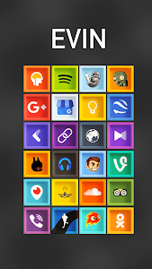 Evin - Icon Pack screenshot 0