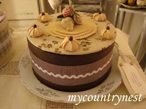 Photo: torta scatola cioccolato