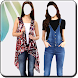 Girls Jeans Photo Suit