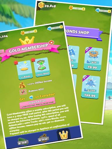 Cubes Rush-Wonder Park screenshot 14