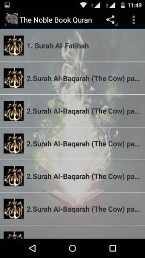 The Noble Book Quran