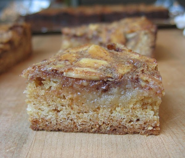 Toffee Almond Bars Recipe