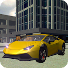 Airport Taxi Parking Drive 3D icon