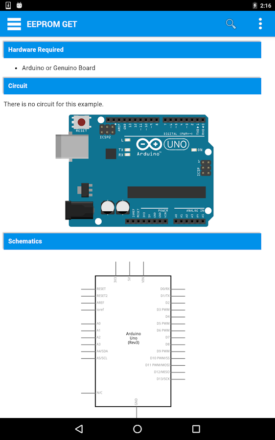 Arduino pocket app android apps on google play