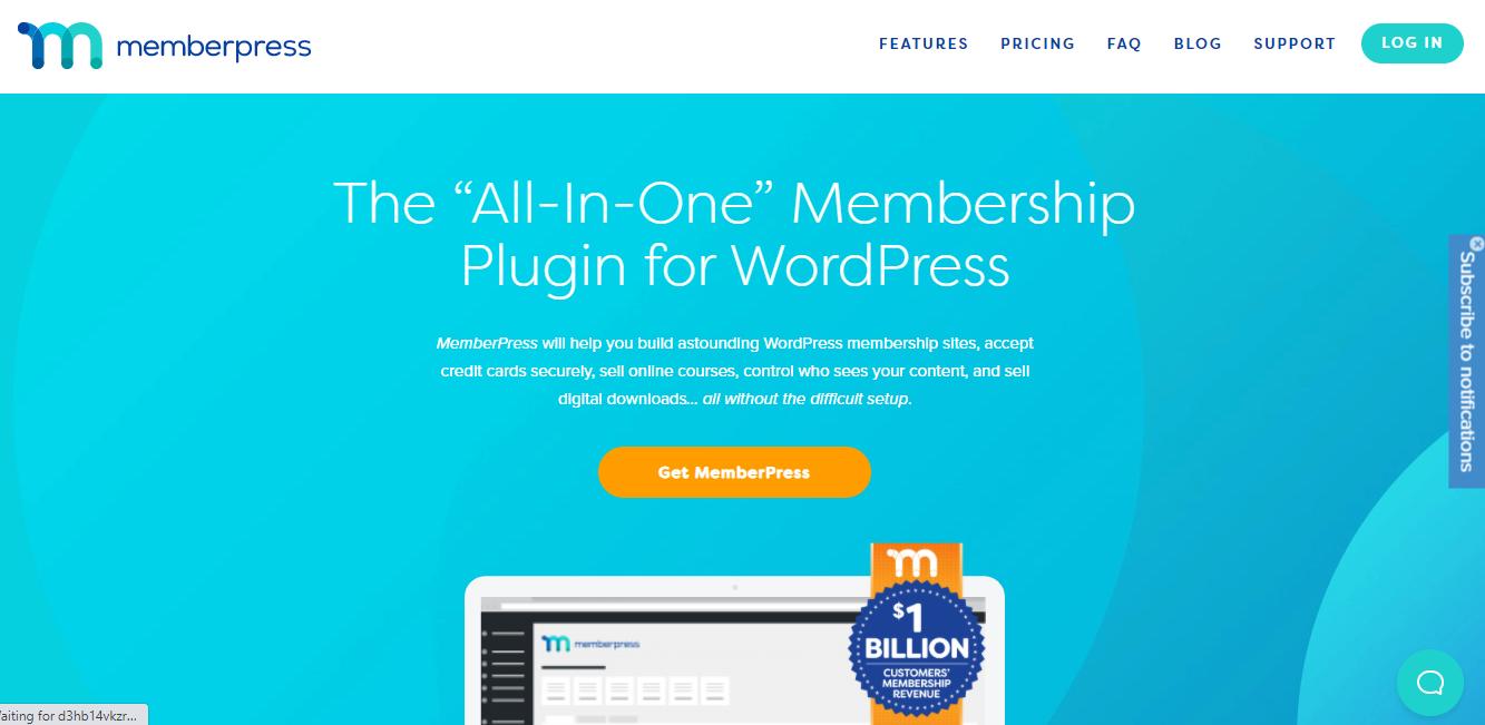 Memberpress Plugin Homepage