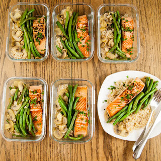 Salmon Marsala - Clean Eating Meal Prep