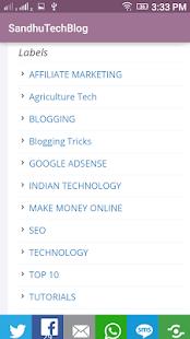 Technology Updates and Reviews screenshot